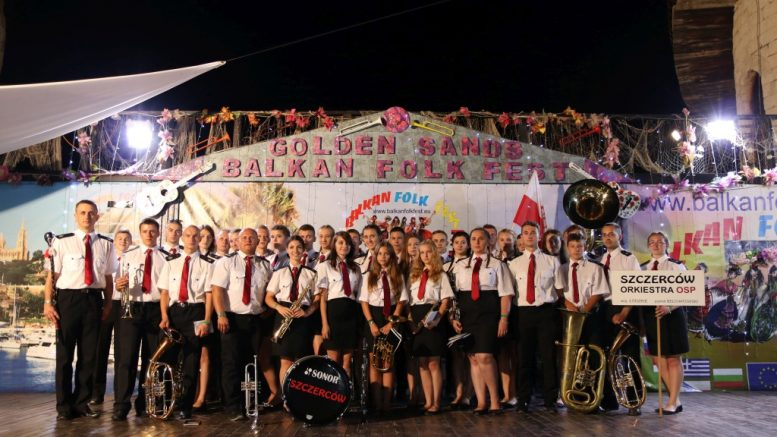 Orkiestra Dęta OSP Szczerców na Balkan Folk Fest w Bułgarii  W dniach 25-30 VII 2016 Orkiestra Dęta OSP Szczerców wzięła udział w przesłuchaniach Balkan Folk Fest w Bułgarii.