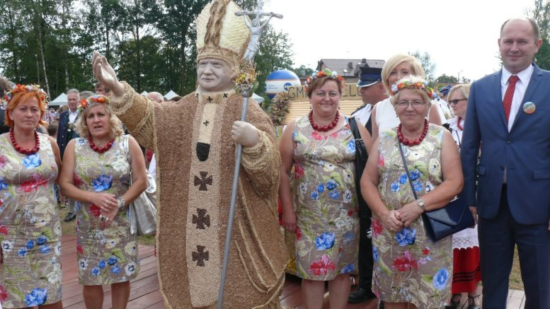 Gmina Szczerców na Dożynkach Powiatowych