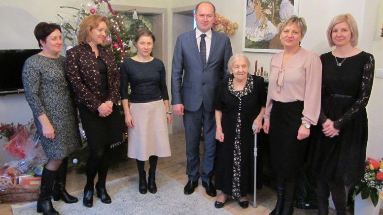 Setne urodziny Pani Janiny Mikołajewskiej