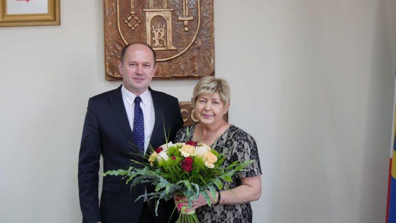 Nowa Przewodnicząca Rady Gminy Szczerców - pani Barbara Szczepanik