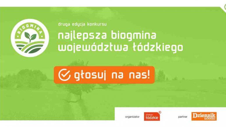 Zagłosuj na Gminę Szczerców w plebiscycie BioGmina