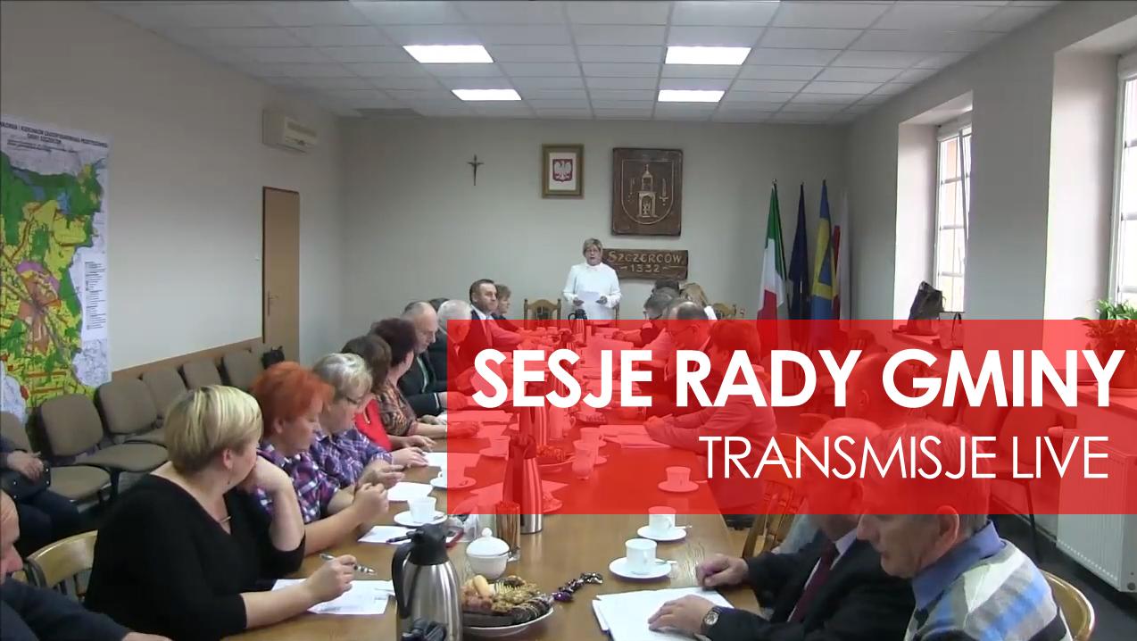 Obrady Sesji Rady Gminy Szczerców