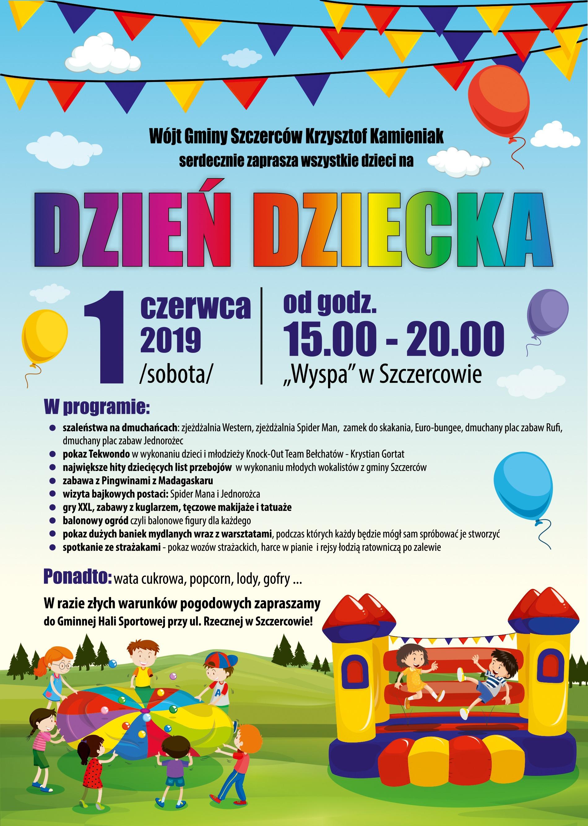 dzień dziecka - plakat - na www