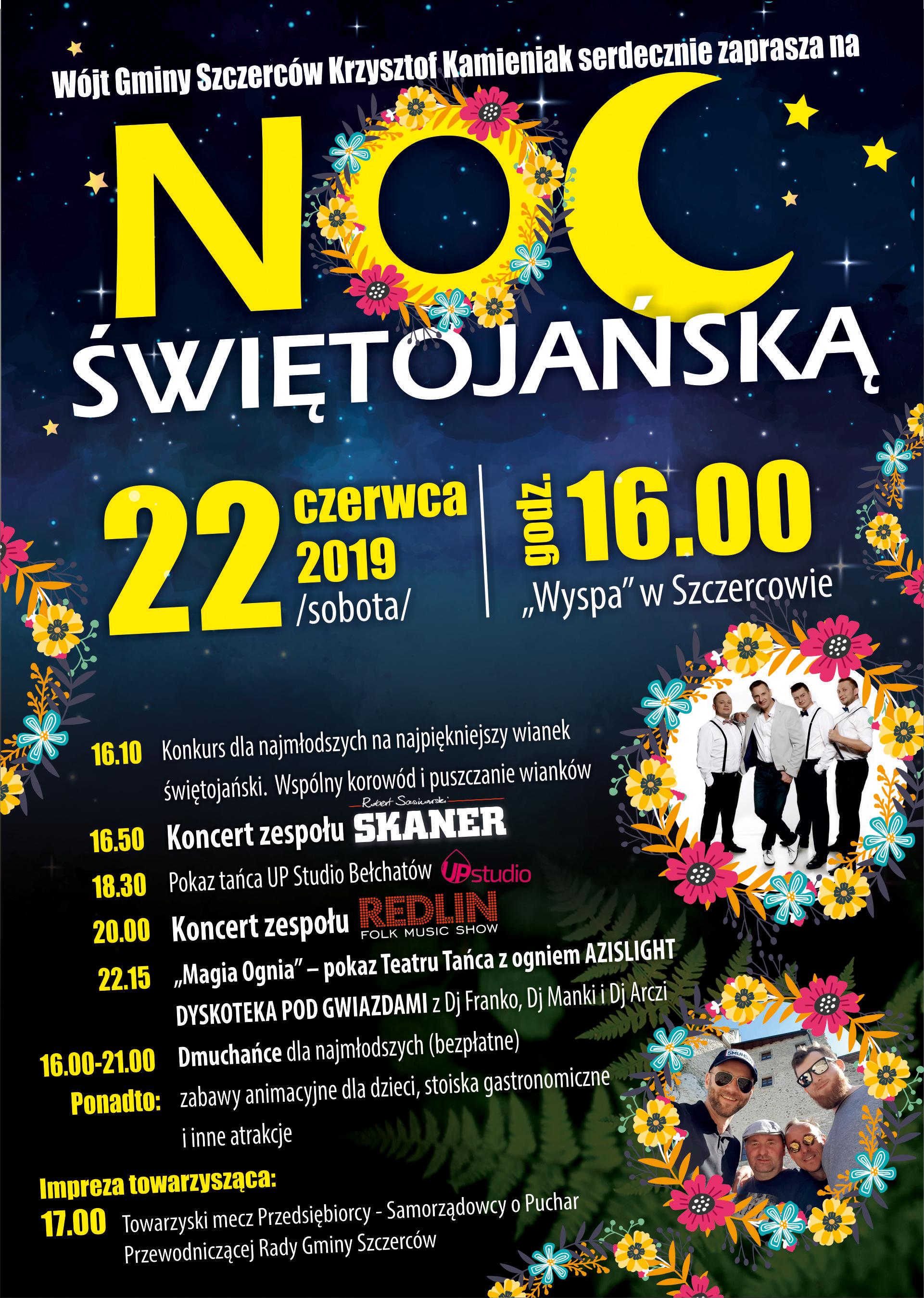Noc Świętojańska - plakat A3