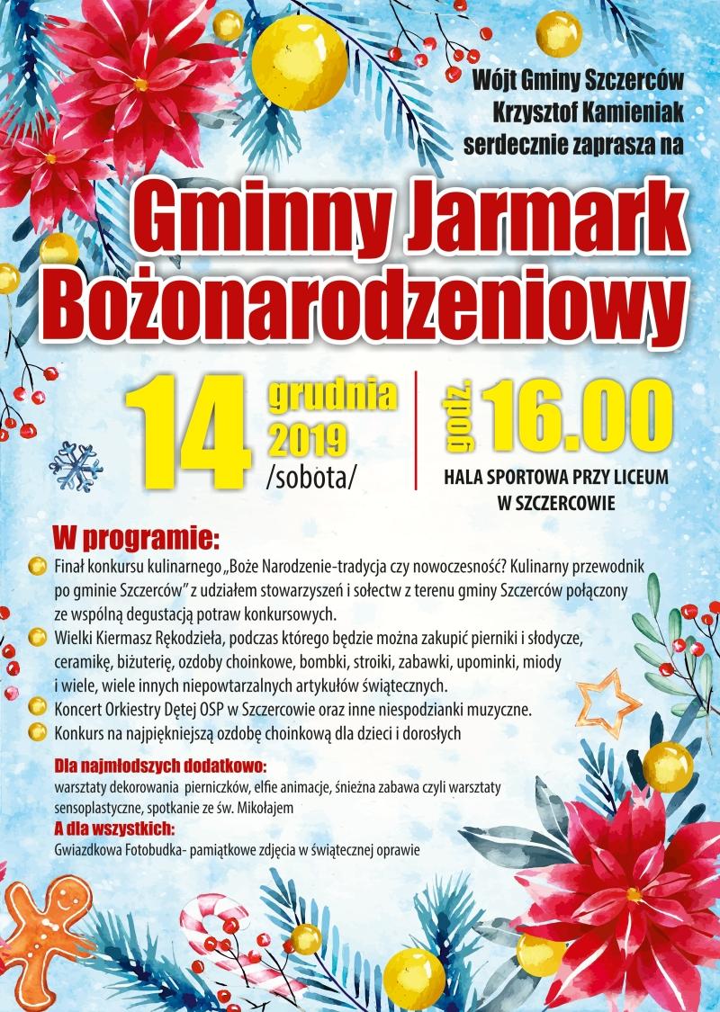 GOK Szczerców - plakat A3 Jarmark www2
